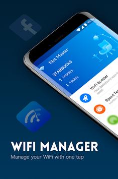 Net Master- Speed Test, WiFi Analyzer, Boost & VPN APK screenshot 1