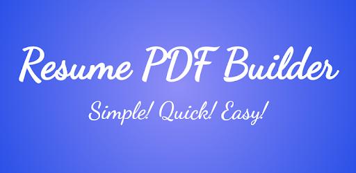 Resume PDF Maker pc screenshot