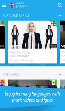 LyricsTraining: Learn Languages with Music APK screenshot 1