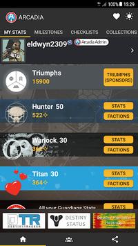 Arcadia for Destiny 2 APK screenshot 1