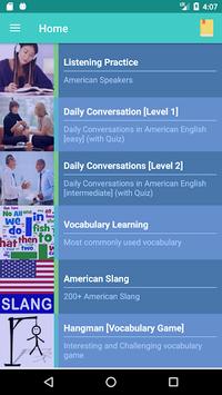 American English Speaking APK screenshot 1