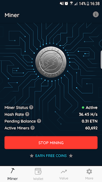 Electroneum APK screenshot 1