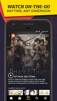VRV: Anime, game videos & more APK screenshot 1
