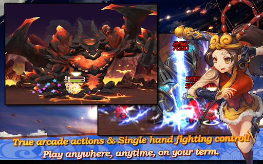 Sword Fantasy Online - Anime MMO Action RPG APK screenshot 1