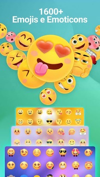 ❤️Emoji keyboard - Cute Emoticons, GIF, Stickers APK screenshot 1