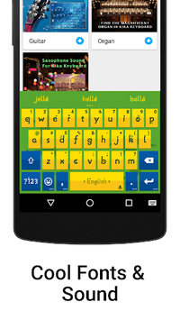 iKeyboard - emoji, emoticons APK screenshot 1