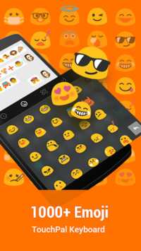 TouchPal Keyboard for HTC APK screenshot 1