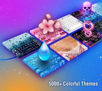 TouchPal Emoji Keyboard: AvatarMoji, 3DTheme, GIFs APK screenshot 1