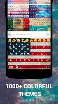 Emoji Keyboard Lite APK screenshot 1