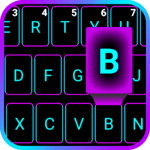 Emoji Smart Neon keyboard icon