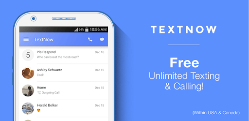 TextNow: Free Texting & Calling App pc screenshot