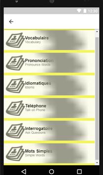 French to English Speaking - French to English APK screenshot 1