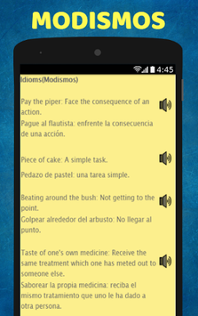 Aprende Ingles: Spanish to English Speaking APK screenshot 1