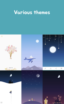 Luna Diary-journal on the moon APK screenshot 1