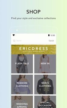 Ericdress Fashion Clothes Shop APK screenshot 1