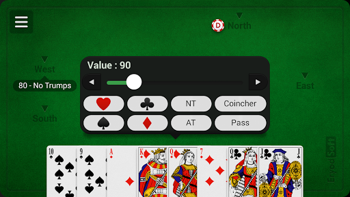 French Coinche - Free APK screenshot 1