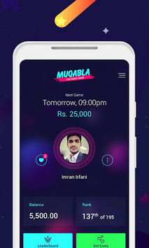 Muqabla -Free Online Live Quiz Game Show APK screenshot 1