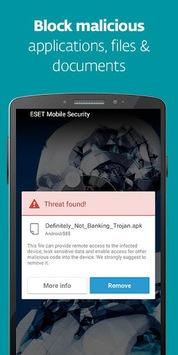 Mobile Security & Antivirus APK screenshot 1