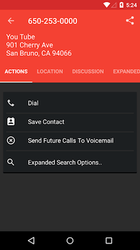 Reverse Lookup - Caller ID and Block APK screenshot 1