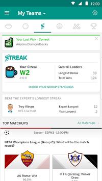 ESPN Fantasy Sports APK screenshot 1