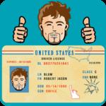 US DMV License Test icon