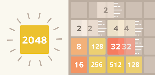 2048 Number puzzle game pc screenshot