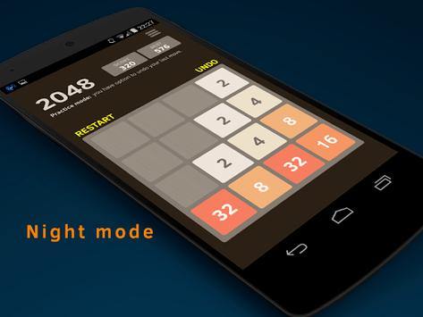 2048 Number puzzle game APK screenshot 1