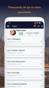 TOEIC Test Pro 2018 APK screenshot 1