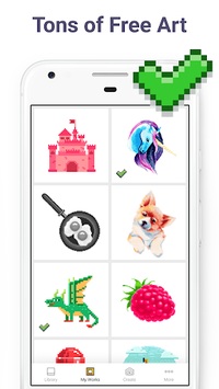 Pixel Art: Color by Number Game APK screenshot 1