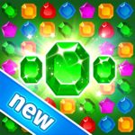 Treasure Hunters: free match3 gems Merry Christmas icon