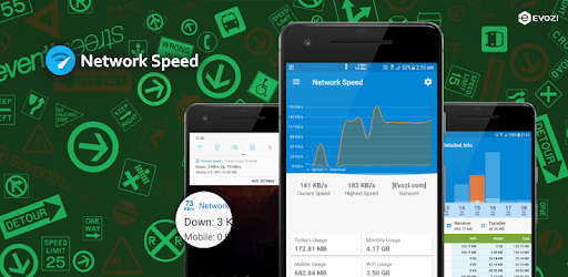 Network Speed - Monitoring - Speed Meter pc screenshot