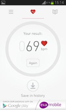 Cardiograph Heart Rate Monitor APK screenshot 1
