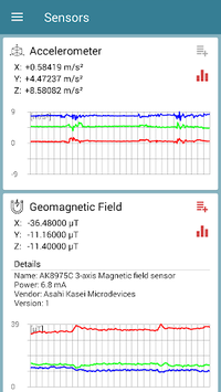 Sensors Toolbox APK screenshot 1