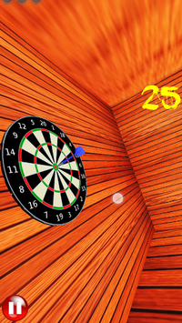 Darts + Photo APK screenshot 1