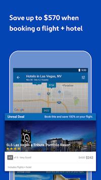 Expedia Hotels, Flights & Car Rental Travel Deals APK screenshot 1
