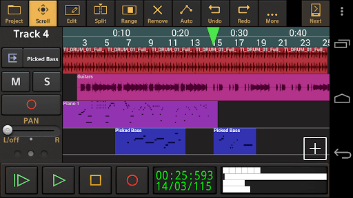 Audio Evolution Mobile Studio TRIAL APK screenshot 1