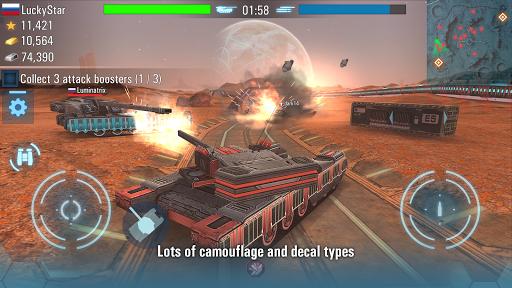 Future Tanks: Free Multiplayer Tank Shooting Games APK screenshot 1