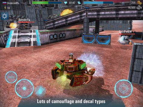 Iron Tanks: Free Multiplayer Tank Shooting Games APK screenshot 1