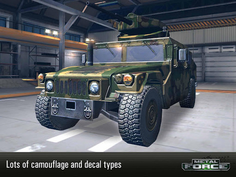 Metal Force: War Modern Tanks APK screenshot 1