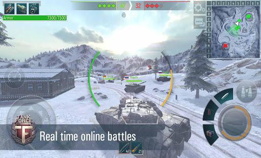 Tank Force: Real Tank War Online APK screenshot 1