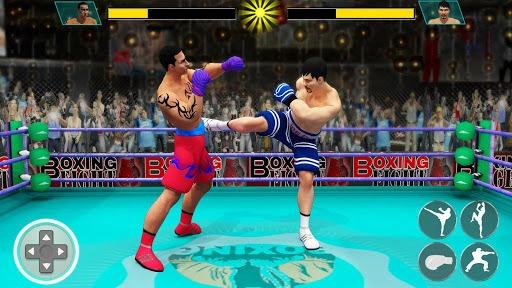 Ninja Punch Boxing Warrior: Kung Fu Karate Fighter APK screenshot 1