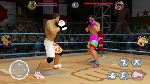 World Tag Team Super Punch Boxing Star Champion 3D APK screenshot 1