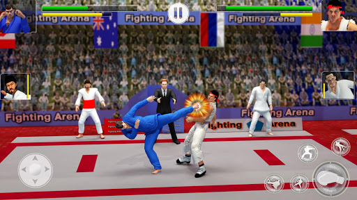 Tag Team Karate Fighting Tiger: World Kung Fu King APK screenshot 1