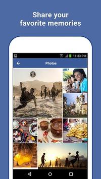 Facebook Lite APK screenshot 1
