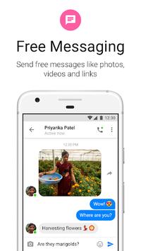 Messenger Lite: Free Calls & Messages APK screenshot 1