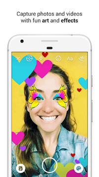 Messenger – Text and Video Chat for Free APK screenshot 1