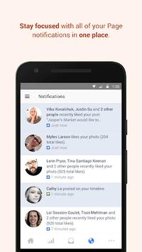 Facebook Pages Manager APK screenshot 1