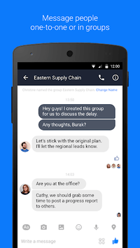 Workplace Chat by Facebook APK screenshot 1