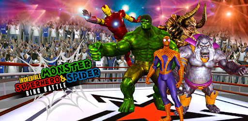 Incredible Monster, Superhero & Spider Ring Battle pc screenshot