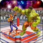 Incredible Monster, Superhero & Spider Ring Battle for pc icon